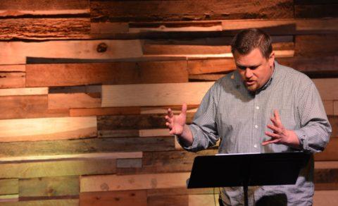 Brandon Cox Preaching