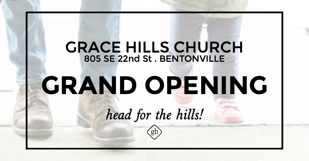 Grace Hills Church is Moving to Bentonville