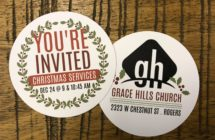 Christmas Eve at Grace Hills Church in Rogers, Arkansas