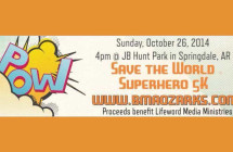 Run a 5K for World Missions! Save the World Superhero 5K