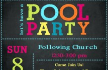Cinema 56 (5th & 6th Grades) Pool Party!